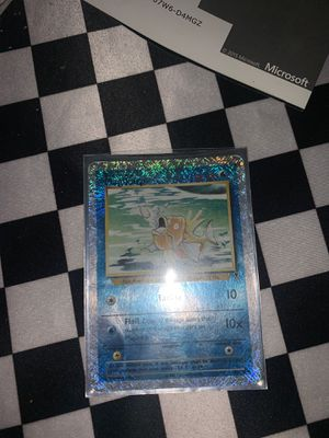 POKEMON: MAGIKARP 52/110 - LEGENDARY COLLECTION REVERSE HOLO CARD for Sale in San Diego, CA