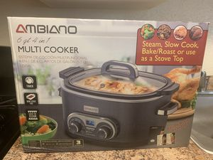 4 in 1 Slow Cooker, Vacuum food Sealer, Cast Iron Griddle for Sale in Hyattsville, MD