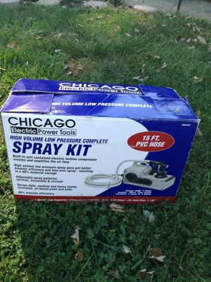 Chicago Electric Power Tools Spray Kit 15 ft. PVC Hose for Sale in Woodbridge, VA