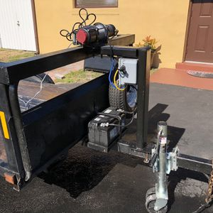 Trailer, 4 1/2 Wide By 7 1/2 In Length for Sale in Hollywood, FL