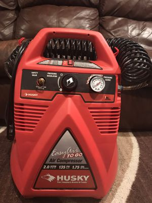 Brand new Husky Air compressor for Sale in Mount Holly, NC