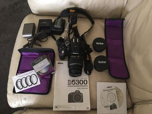 Nikon D5300 for Sale in San Diego, CA