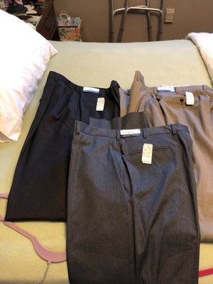 Jos A Bank 4 pair of dress pants. New with tags for Sale in Plum, PA