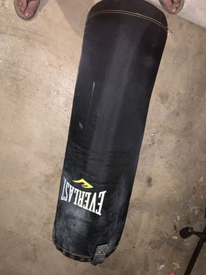 Everlast 80 pound punching bag for Sale in San Marcos, TX