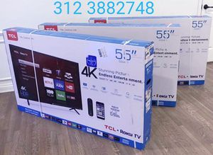 TCL SMART 4k ULTRA HD 55 INCH BREN NEW for Sale in Chicago, IL
