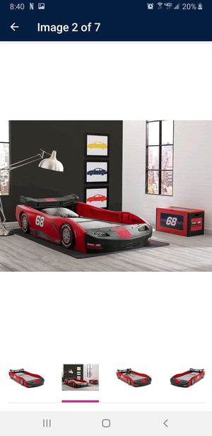 Delta race car twin bed for Sale in Lakewood, OH