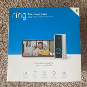 Ring Peephole Cam for Sale in Tampa, FL