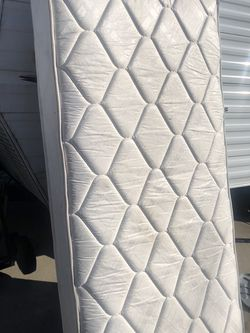 Complete Twin Bed Mattress Box And Frame for Sale in Denver,  CO