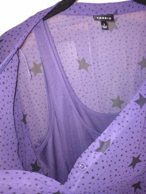 Torrid 1 Purple Star dress for Sale in Austin, TX