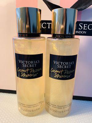 New Victoria's Secret Coconut Passion Shimmer Fragrance Mist 2 Pieces 250/8.4fl.oz for Sale in Reunion, FL
