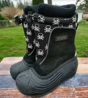 Sporto Boys Snow Boots 11 Skulls for Sale in Federal Way, WA