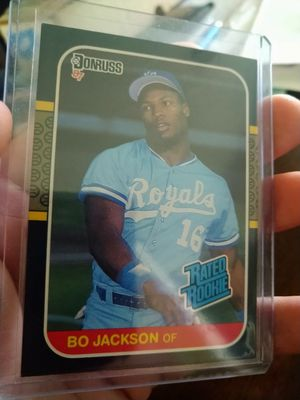 Bo Jackson 1987 Donruss Rated Rookie #35 Baseball Card for Sale in Tampa, FL