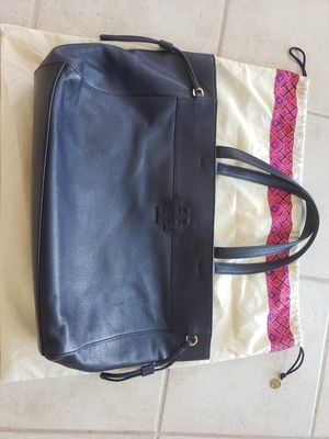 Tory Burch blue leather tote/purse/bolsa for Sale in Scottsdale, AZ