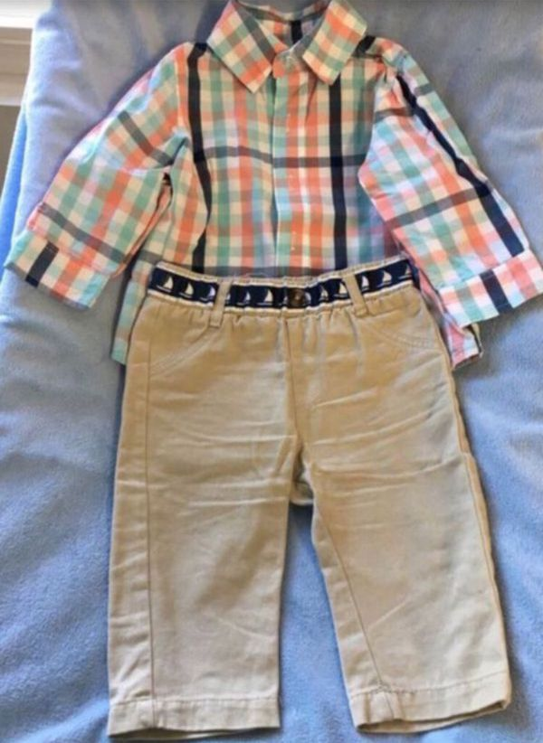 Baby boy set (2pcs) 👶🏼👖👕