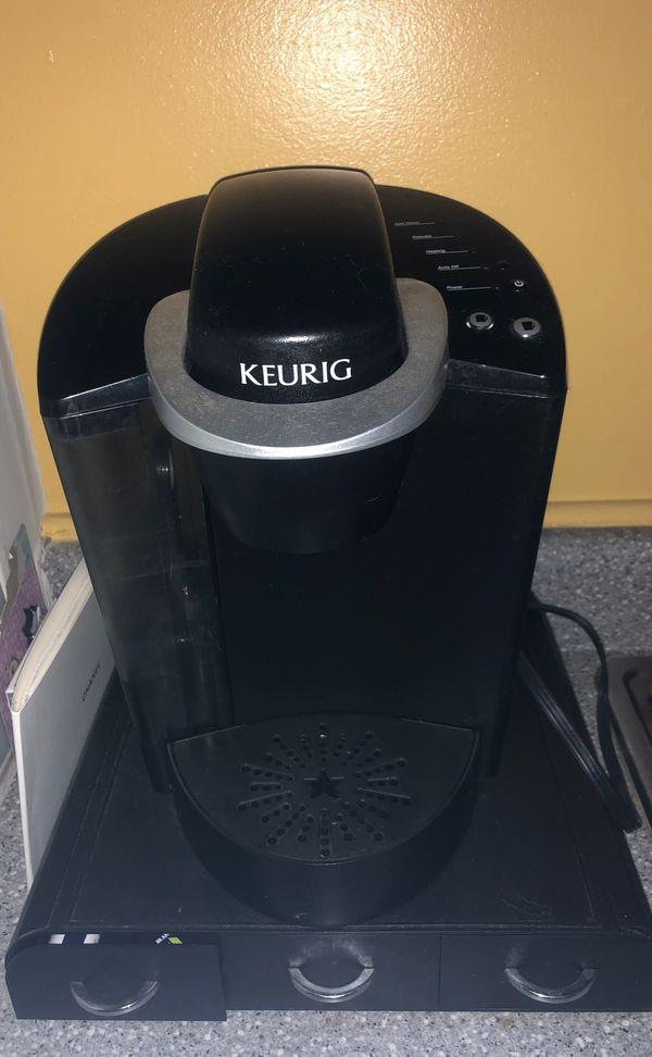 Keurig and Keurig drawers for k cups