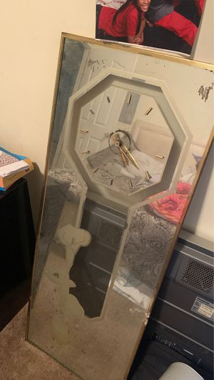 Mirrored wall clock for Sale in East Point, GA