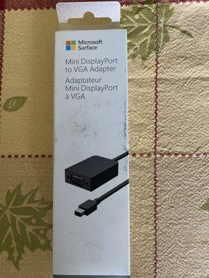 2 Brand New Mini DisplayPort To VGA Adapter for Sale in Irvine, CA