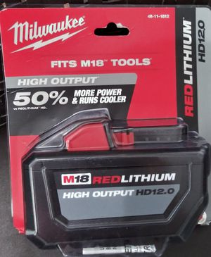 Milwaukee High Output HD12.0 for Sale in Miami, FL