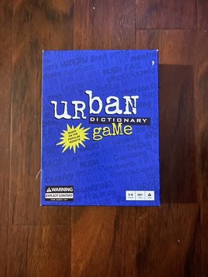 Urban dictionary board game for Sale in Hanover Park, IL