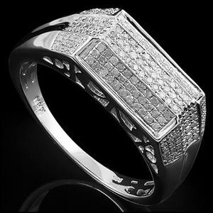 14k solid White gold 64 diamond ring for Sale in Vidor, TX