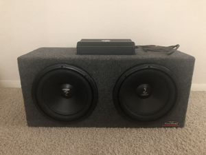 Amplifier with subwoofers for Sale in Friendswood, TX