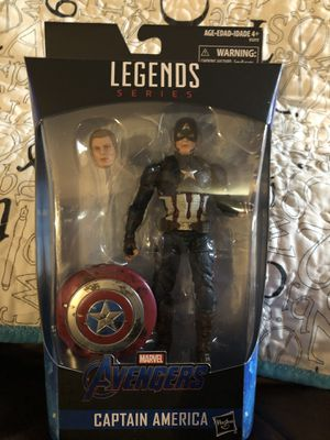 Marvel Legends Series Captain America Endgame for Sale in Renton, WA
