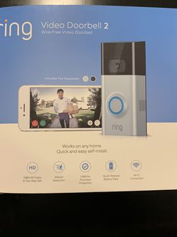 Ring Video Doorbell 2 for Sale in Lowell,  MA