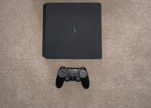 PS4 1TB memory, 3 games, cables, controller for Sale in Butte, MT