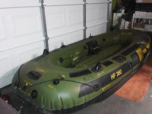 Sevylor 360, HF-360,Dish Hunter inflatable 6 man boat for Sale in Las Vegas, NV