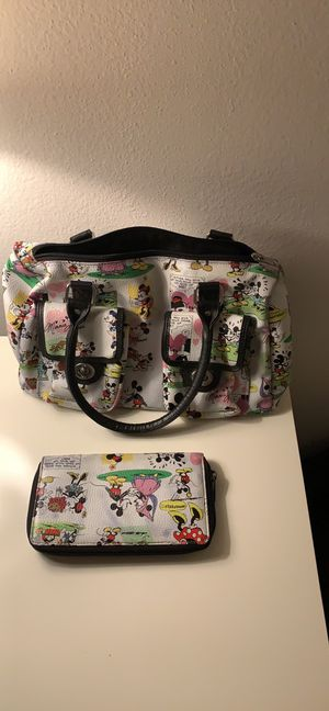Mickey mouse bag and purse for Sale in Aliso Viejo, CA