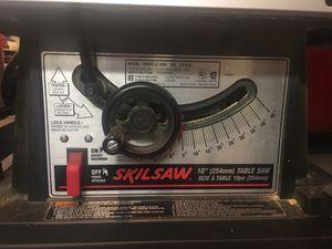 "Skilsaw 10"" table saw for Sale in Glen Ellyn, IL"
