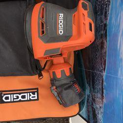 RIDGID 18-Volt Cordless 5 in. Random Orbit Sander Tool Only  for Sale in Garden Grove, CA
