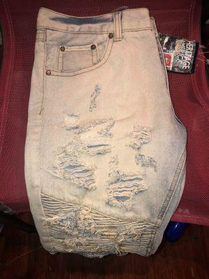 Men's Heritage America Denim Ripped Jeans for Sale in Philadelphia, PA