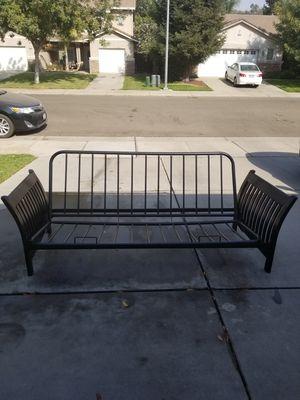 Black futon frame. for Sale in Merced, CA