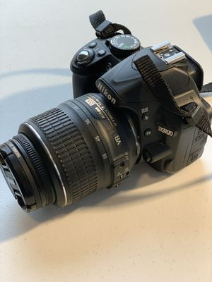 Nikon D3100 with Nikkor 18-55 VR Kit and Nikkor VR 55-300 & MORE for Sale in Chicago, IL