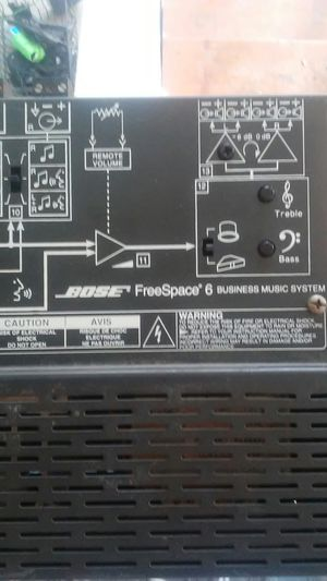 Bose freespace 6 business music system for Sale in Belleville, IL