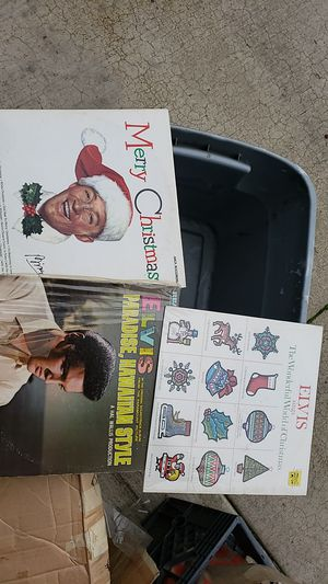 Elvis and Bing Crosby LPs for Sale in Eugene, OR