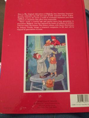 The Original Adventures of Raggedy Ann kids book for Sale in Marietta, GA