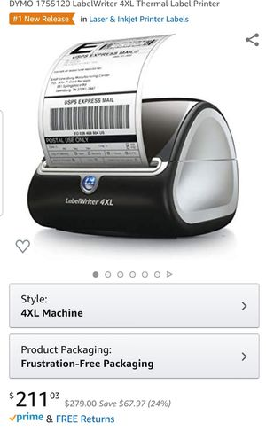 Dymo Label Writer 4xl for Sale in Spring Hill, FL