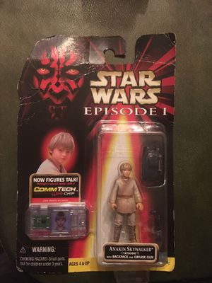 Star Wars Episode 1 Anakin Skywalker action figure (collection 1) with Comm Tech chip for Sale in Rio Vista, CA