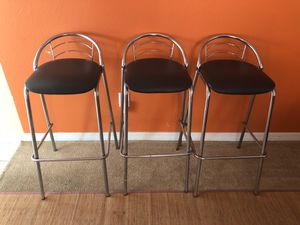 3 Used Bar stools for SAle for Sale in Lutz, FL
