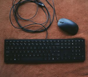 HP Slim Keyboard And Mouse Set (Black) for Sale in Montgomery, AL