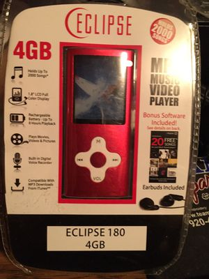Eclipse mp3 player for Sale in Green Bay, WI