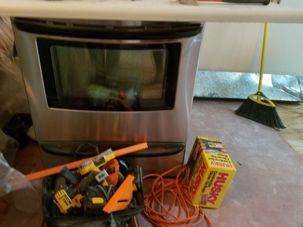 Stainless steel electric stove