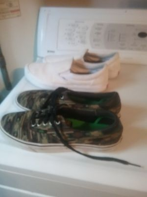 Men vans size 12 both for Sale in Ceres, CA