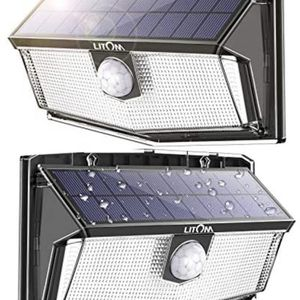 LED Solar Motion Sensor Lights Outdoor for Sale in Las Vegas, NV