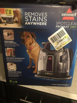 Bissell Spotclean Proheat Pet for Sale in Deer Park, TX