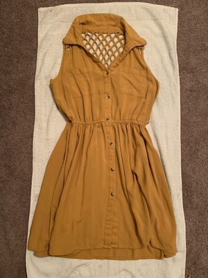 Mustard Yellow Dress for Sale in El Paso, TX