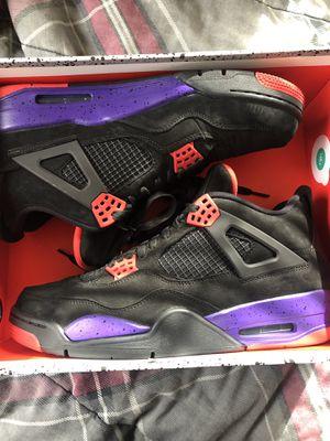 Jordan 4 Raptors shoes size 12 for Sale in Akron, OH