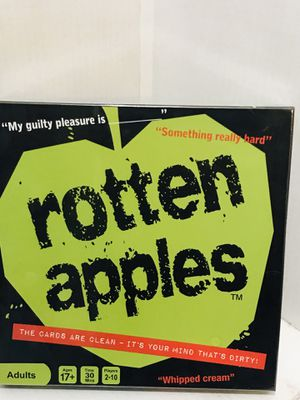 Rotten Apples Board Game Rotten Apples for Sale in San Antonio, TX